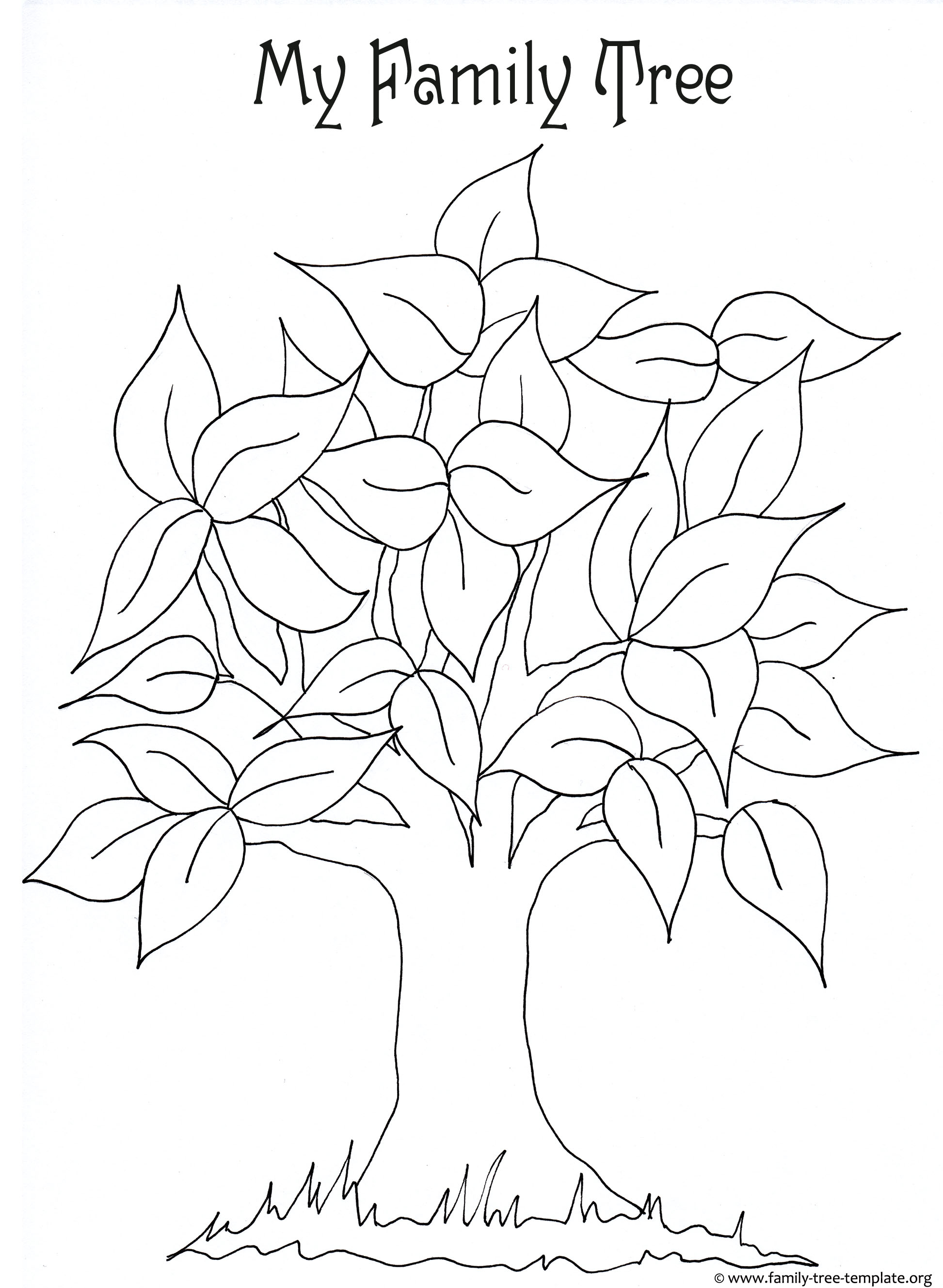 tree drawing for kids at getdrawings com free for personal use