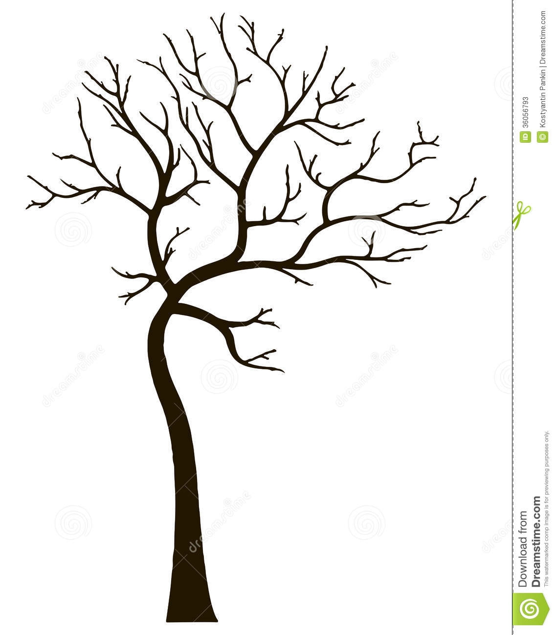 1137x1300 Clip Art Tree No Leaves Clip Art
