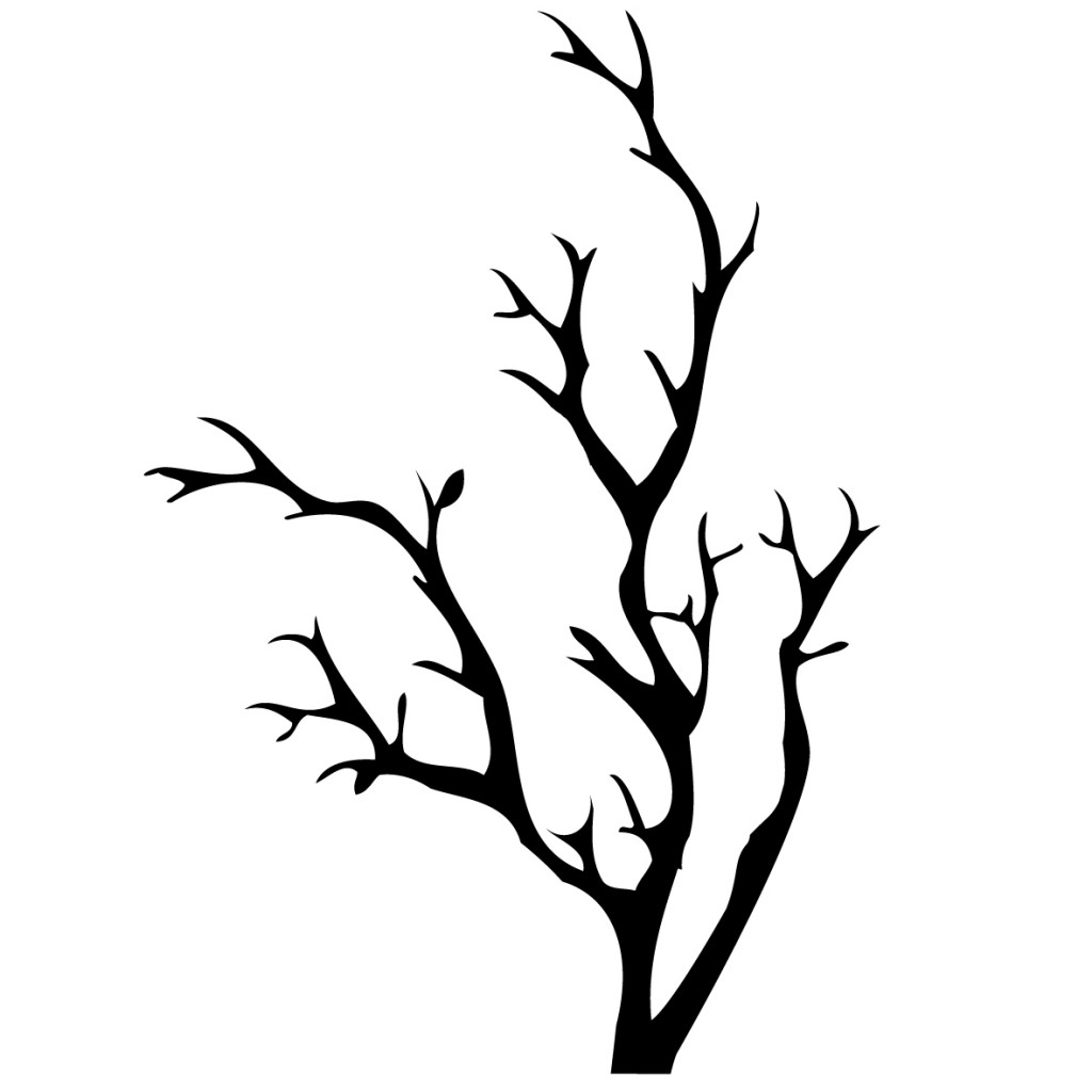 1024x1024 Tree Without Leaves Clipart