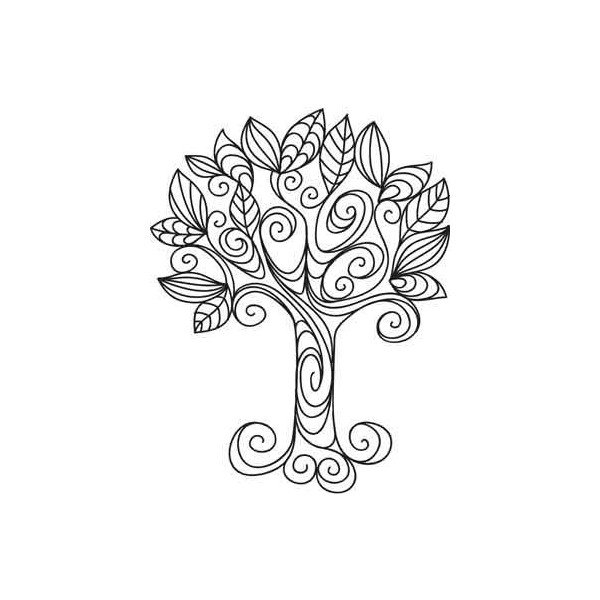 600x600 School Pretty Doodle Tree, Tattoo, Simple Yet Funky, Found