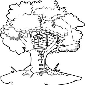 Tree House Drawing At Getdrawings Com Free For Personal Use Tree
