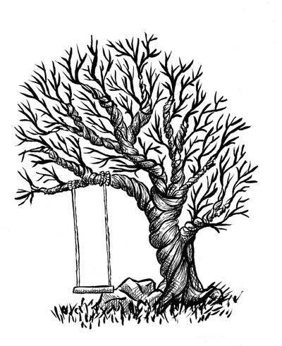400x491 Ink Drawings On Nabaroo
