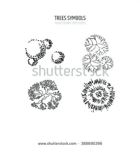 450x470 Landscape Drawing Symbols Westyle.co