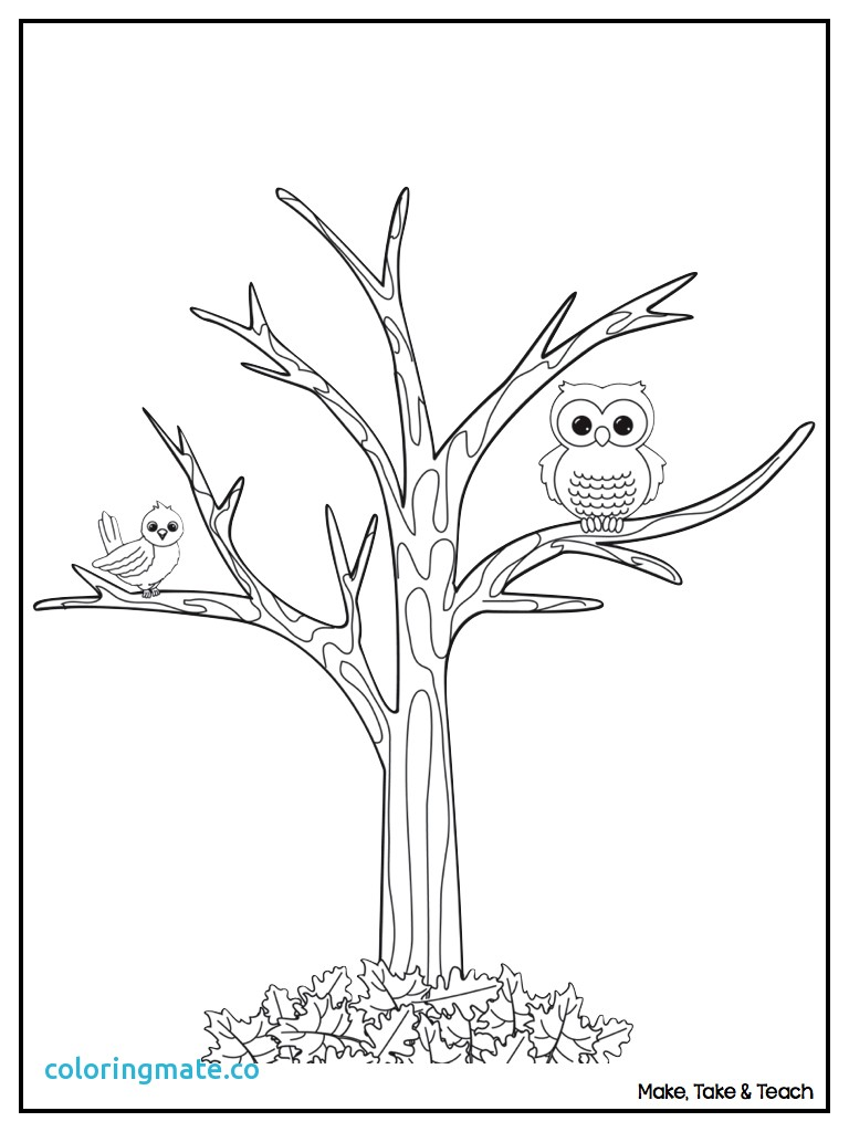 768x1024 Tree Coloring Page Awesome A Tree Coloring Pages Of Coloriafes Disney
