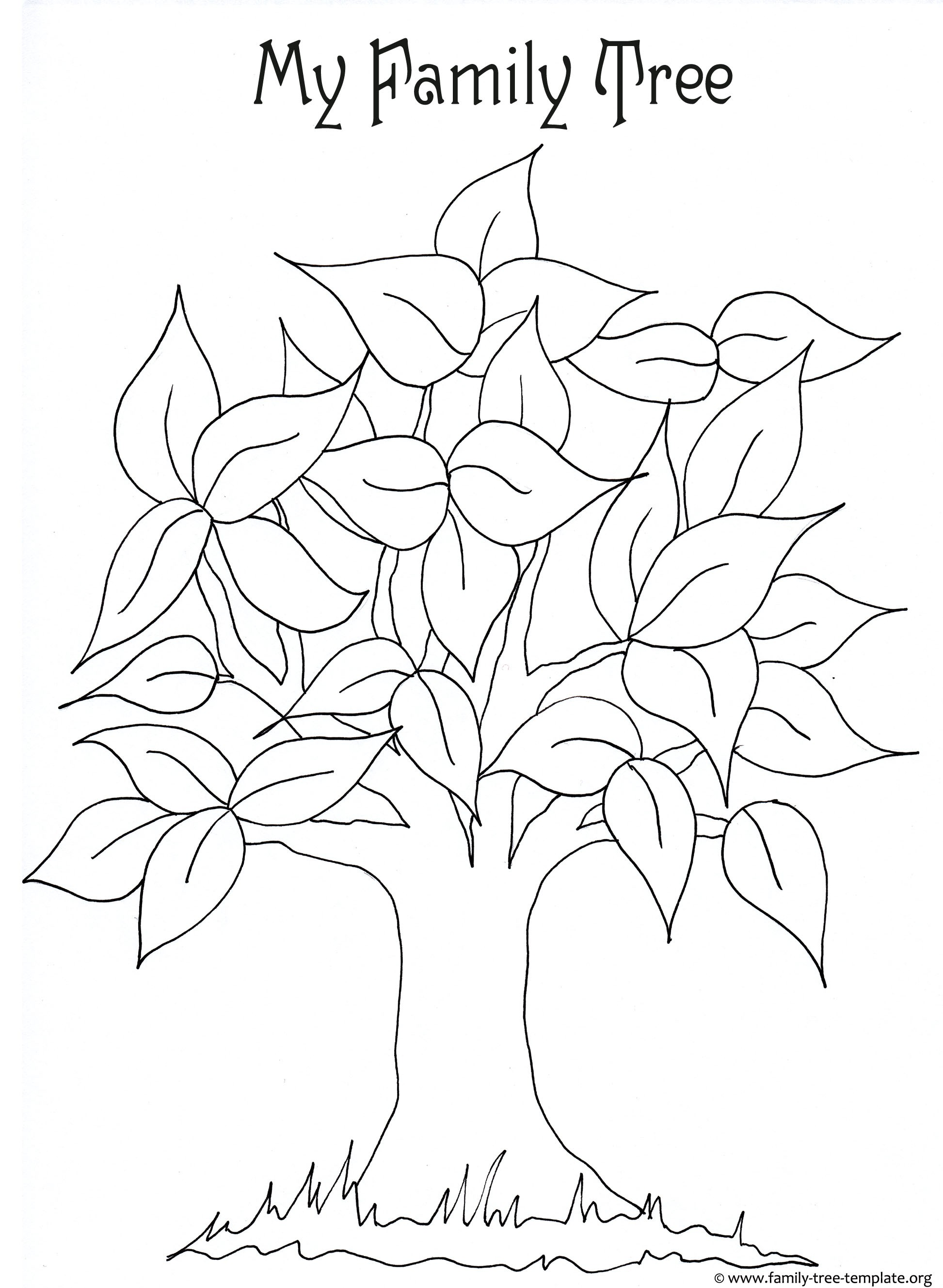 1945x2657 Tree Coloring Pages With No Leaves Luxury Fall Leaf Archives