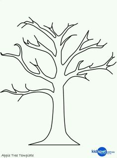 236x317 Bare Tree Without Leaves Coloring Pages