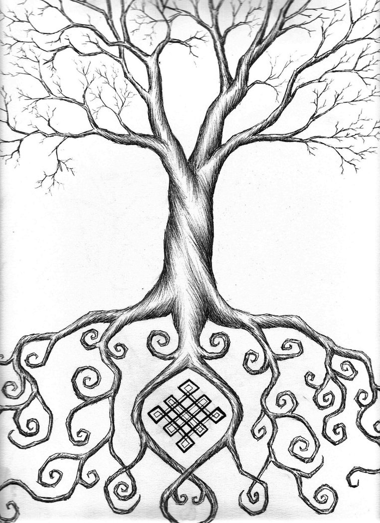 762x1047 Tree Of Life By Wilykat13