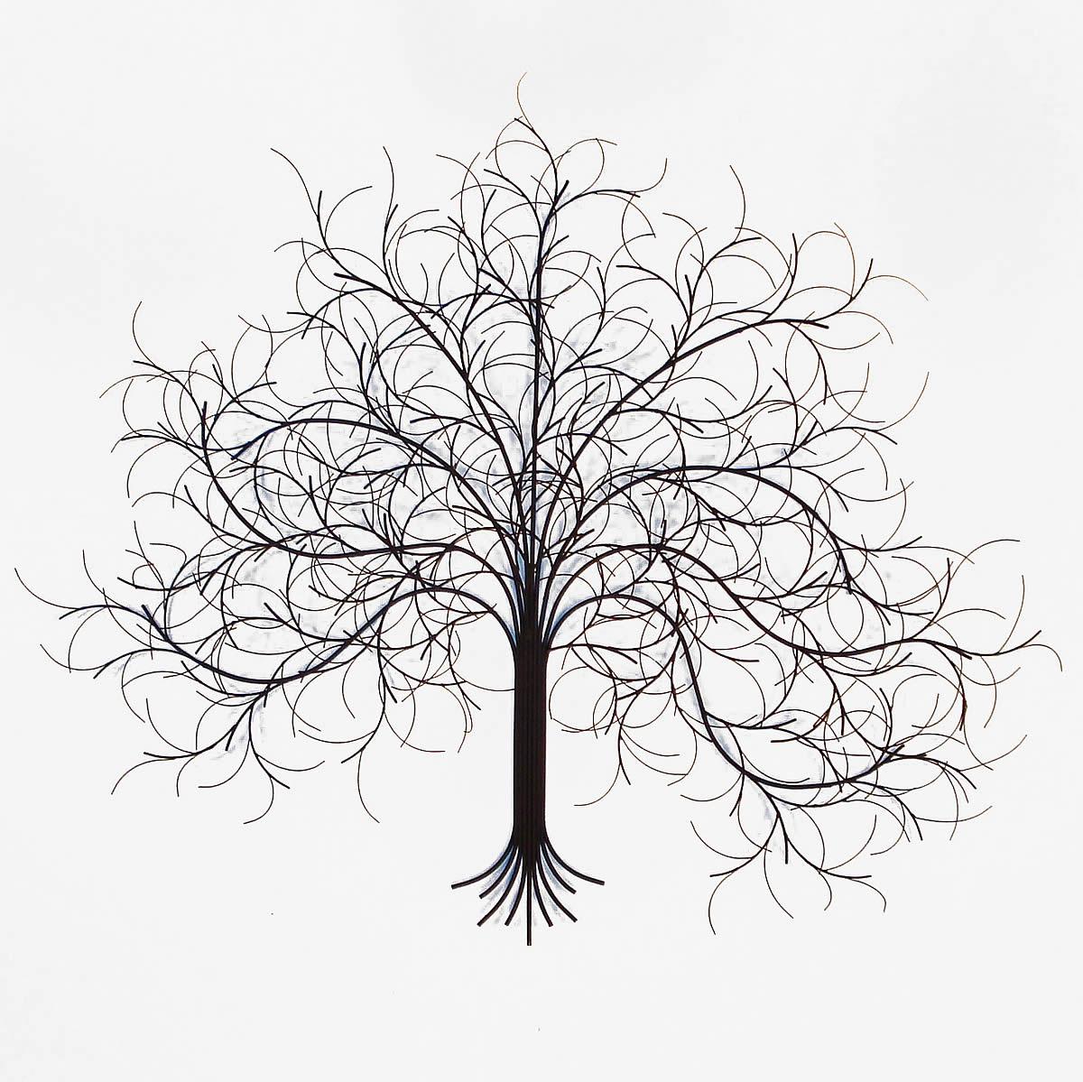 1200x1199 March Metal Tree Wall Decor