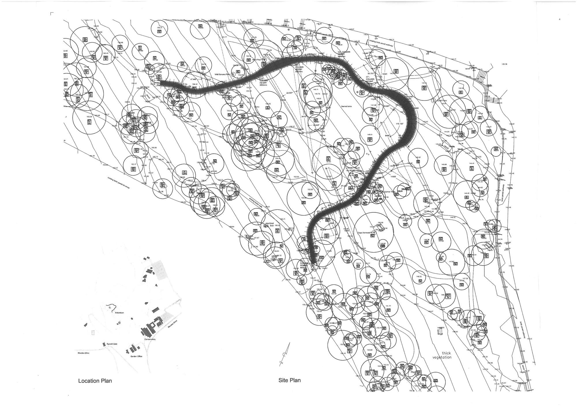 2000x1414 Gallery Of Kirstenbosch Centenary Tree Canopy Walkway Mark