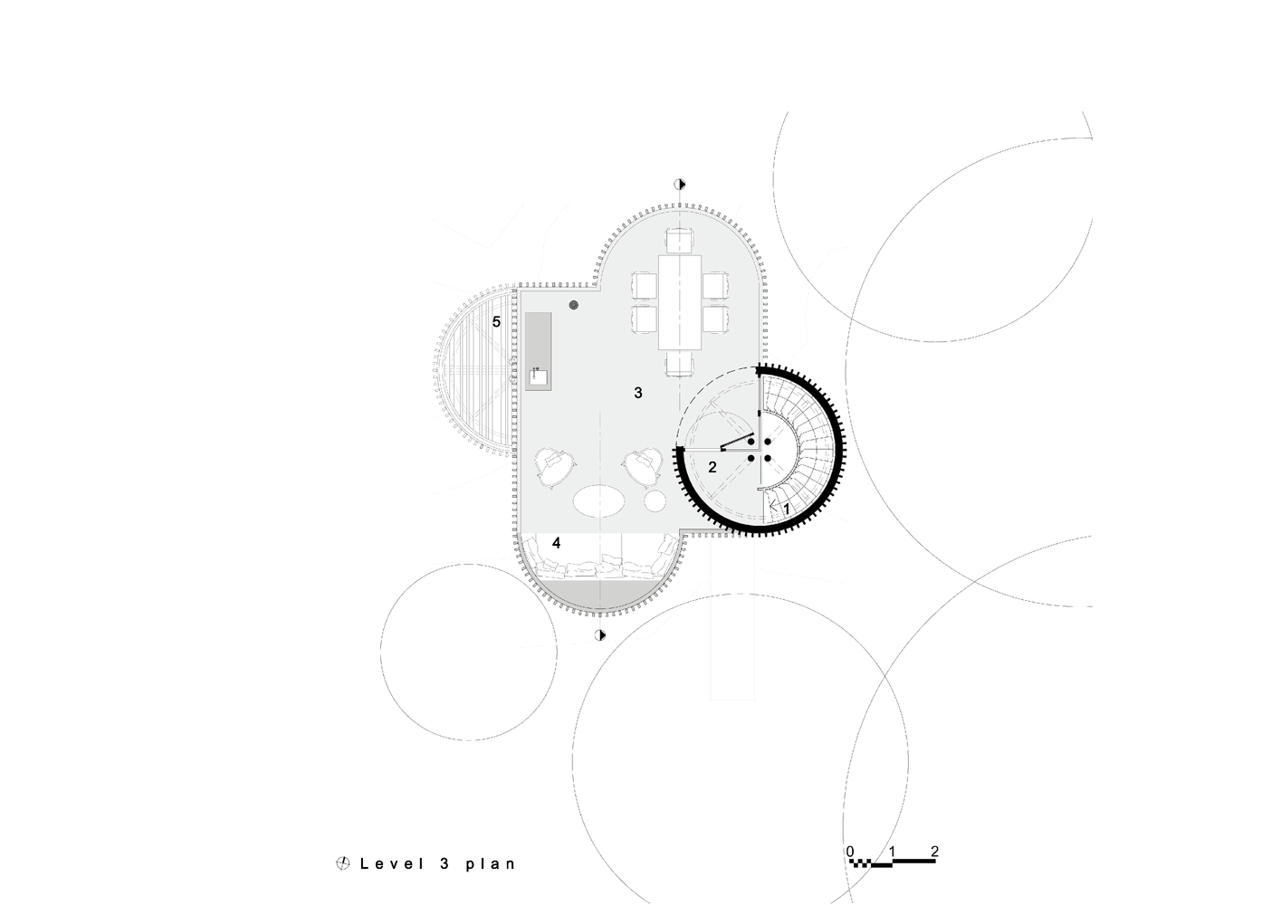 1415x1000 Gallery Of Tree House Malan Vorster Architecture Interior Design