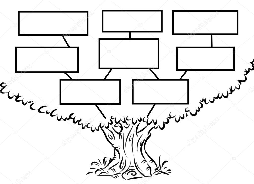 1023x741 Tree Plan Smart Goal Cartoon Stock Photo Efengai