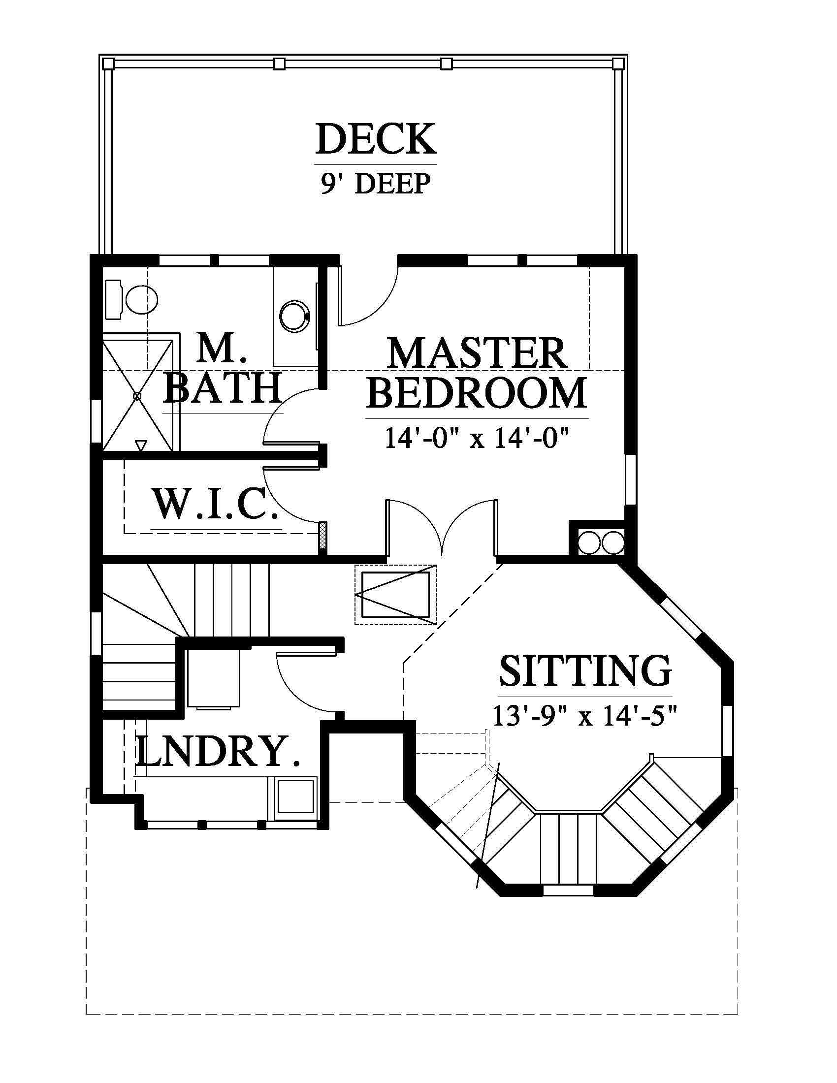 1700x2200 Windy Gap Tree House House Plan (Nc0024) Design From Allison