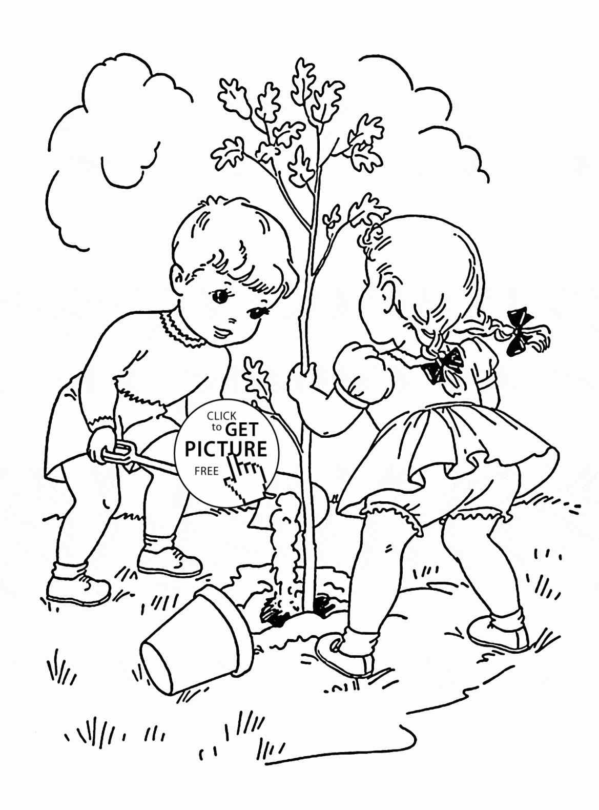 Tropical Coloring Page Pdf