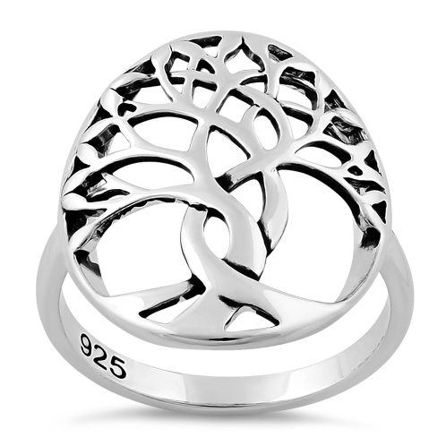 498x498 Sterling Silver Tree Of Life Ring For Sale Sterling Silver Rings