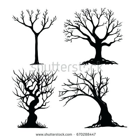 450x470 Halloween Trees Dead Trees Pack Trees Haunted Role Play Trees 6