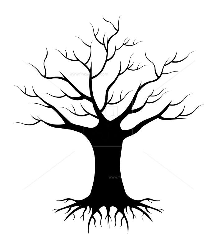 698x800 Tree Branches Free Vectors, Illustrations, Graphics, Clipart