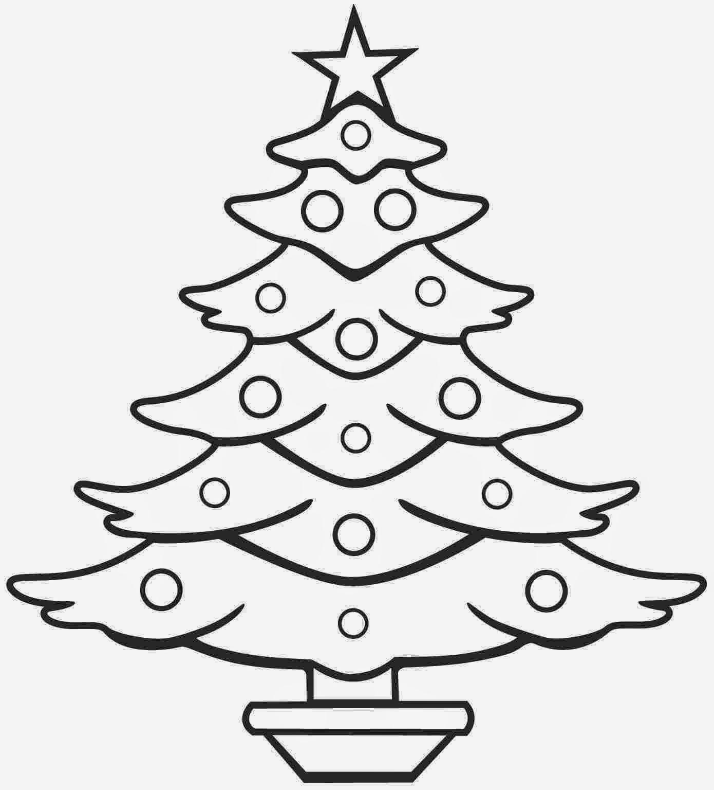 1390x1536 Christmas Tree Drawing Images Christmas Lights Decoration