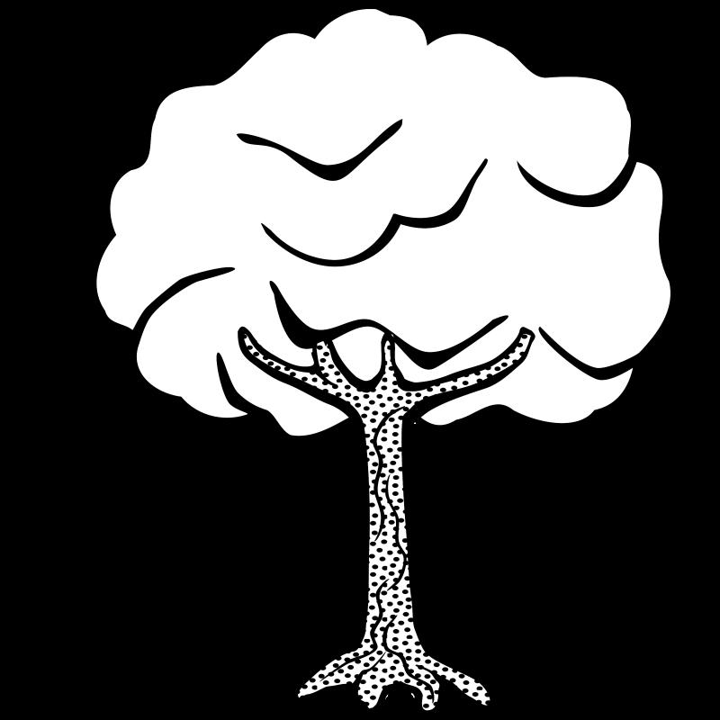 800x800 Tree Line Clip Art