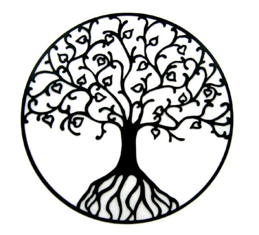 825x748 Tree Of Life Tattoo Stencils And Ideas