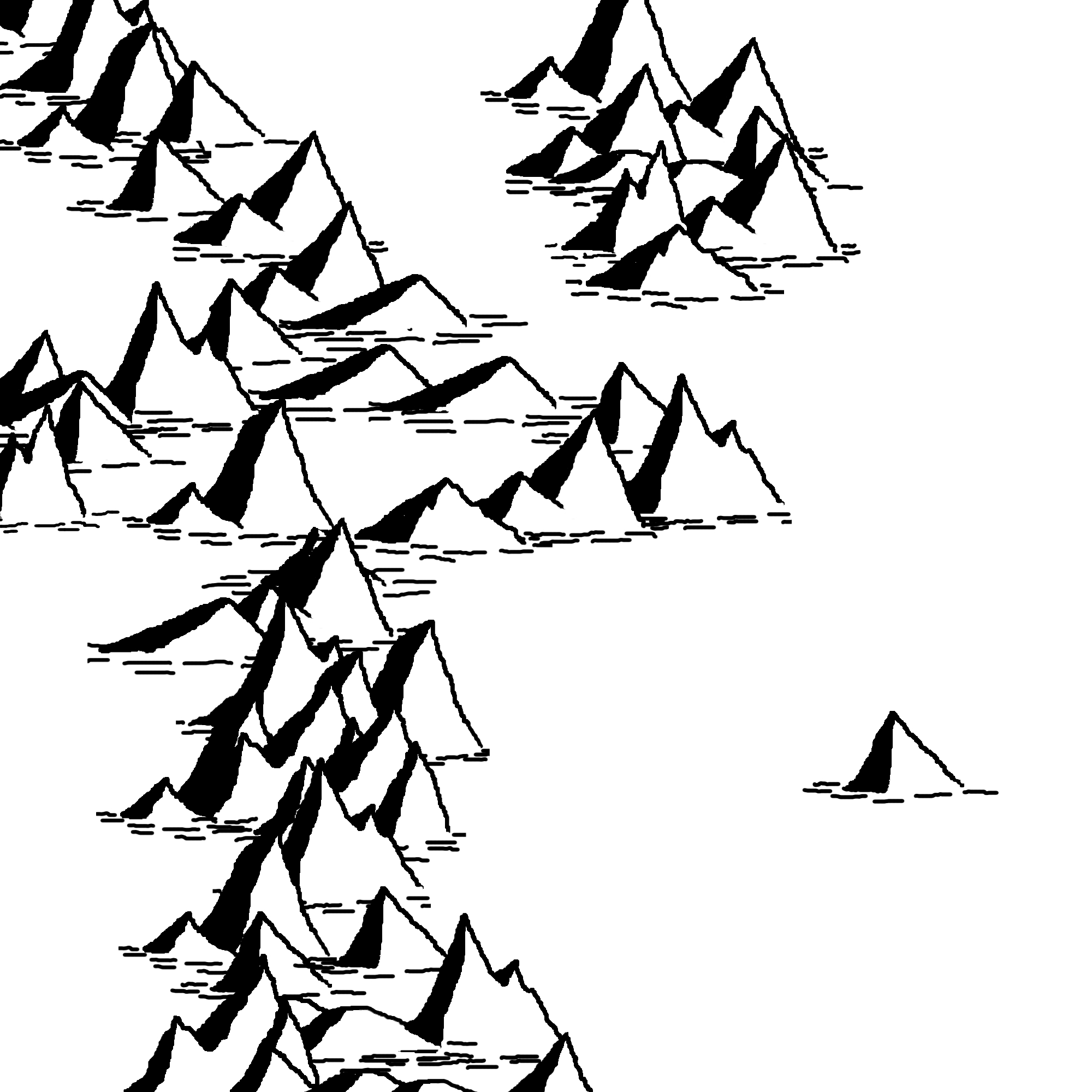 2000x2000 Makin' Mountains And Makin' Trees. Cartographic Principles
