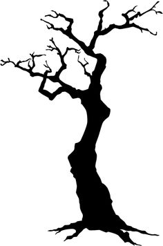 236x356 Tree Drawings Black And White Sillouette Tree Silhouette