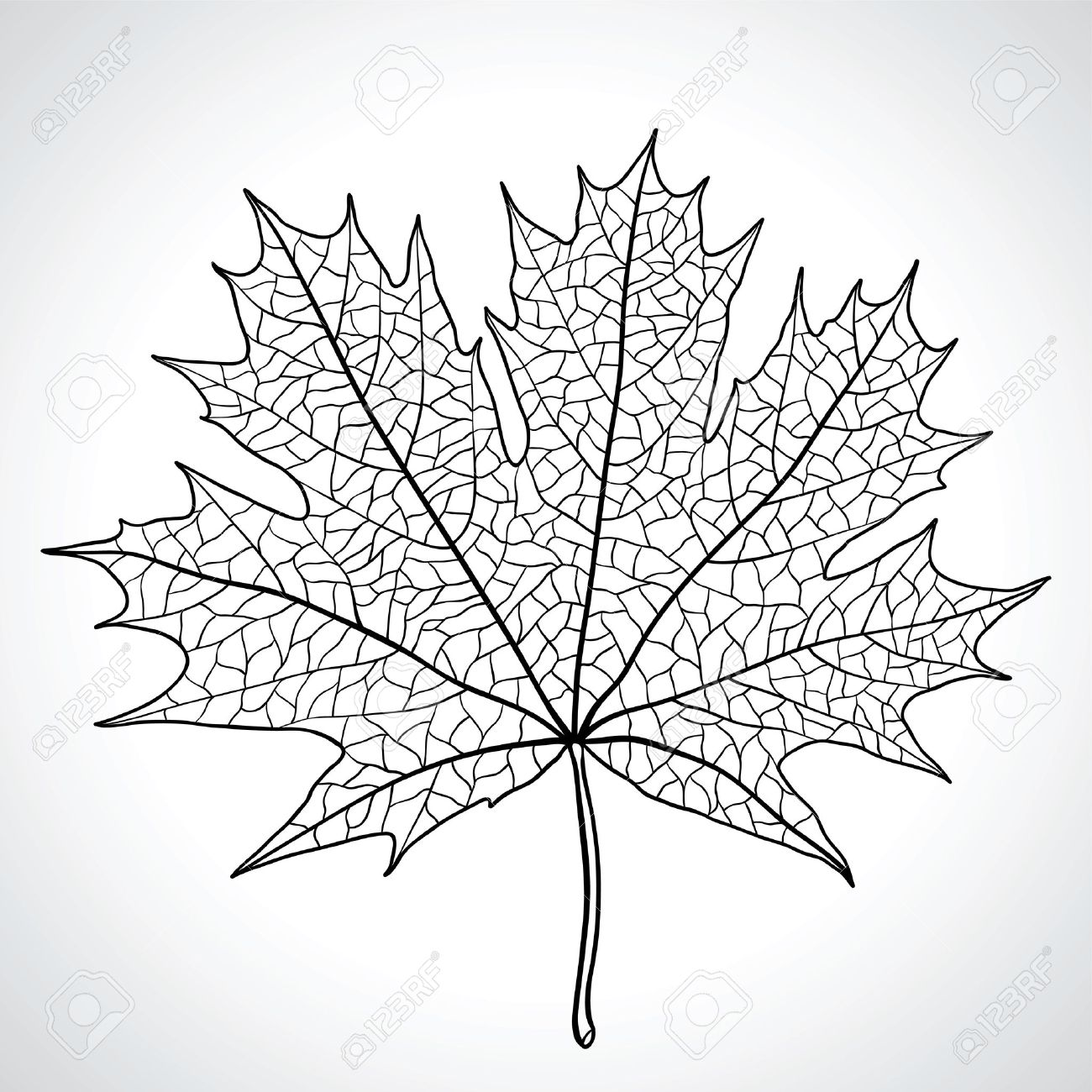 1300x1300 Black And White Drawings Of Nature Clipart