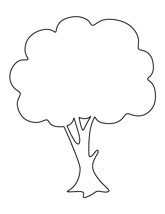 550x712 Outline Of A Tree Drawing Free Clip Arts Sanyangfrp