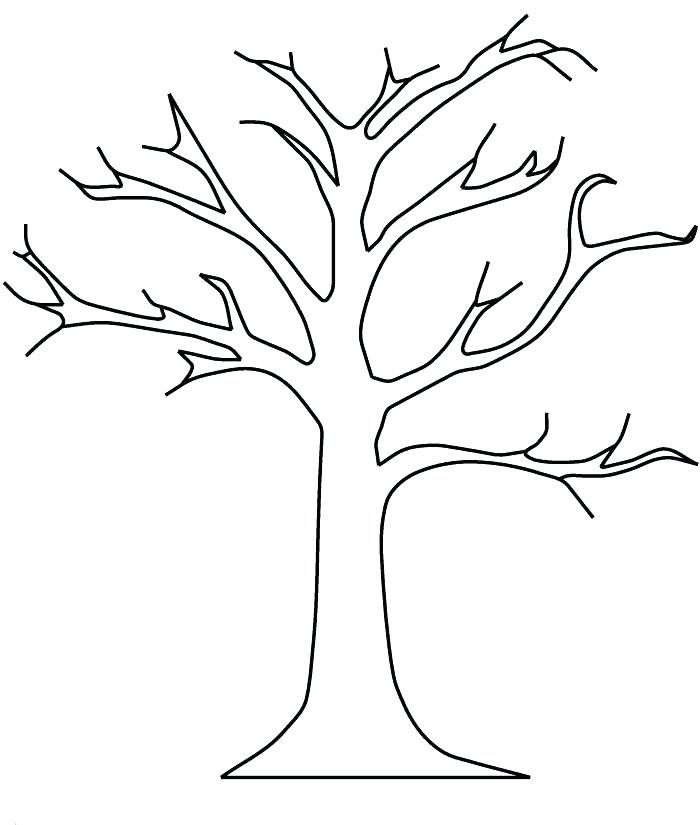700x825 Lovely Coloring Pages Trees Print Breathtaking Tree For Line