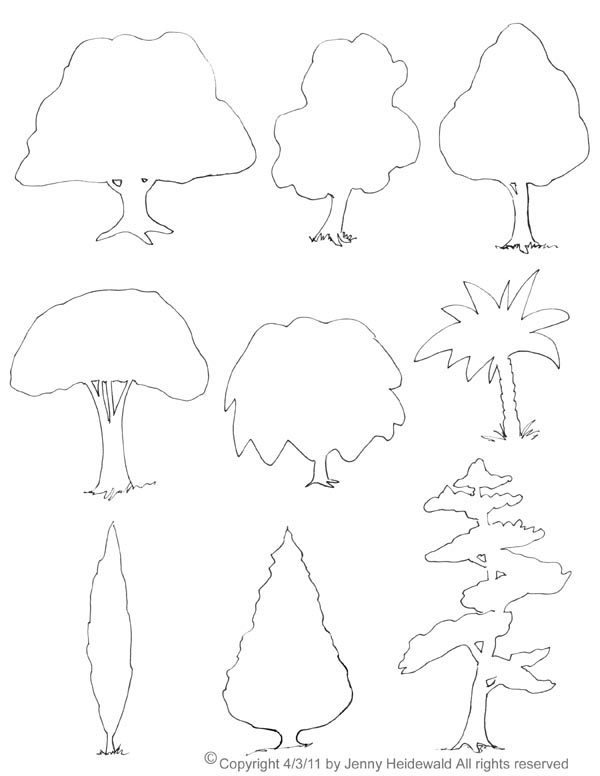 trees with roots drawing at getdrawings com