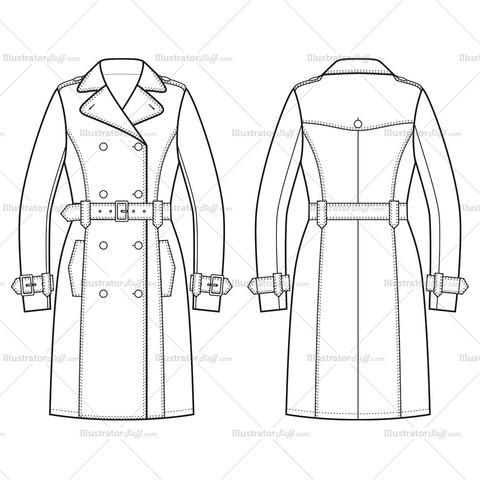 480x480 Products Tagged Trench Coat Illustrator Stuff