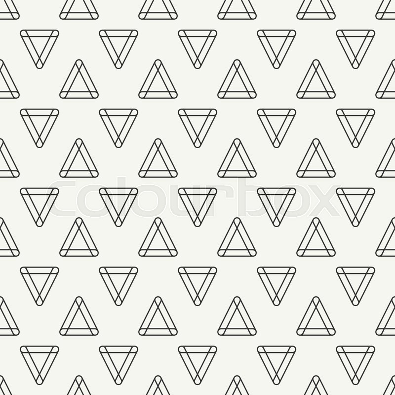 800x800 Geometric Line Monochrome Abstract Hipster Seamless Pattern
