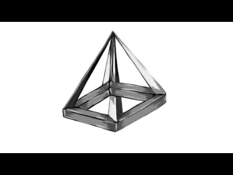 480x360 How To Draw An Impossible Pyramid