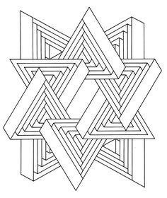 236x280 L'Illusion D'Optique Leyla Op Art, Illusions