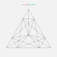 240x240 Search Photos Triangle Design