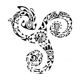 260x260 Triathlon Triskell Tattoo Symbols Triathlon