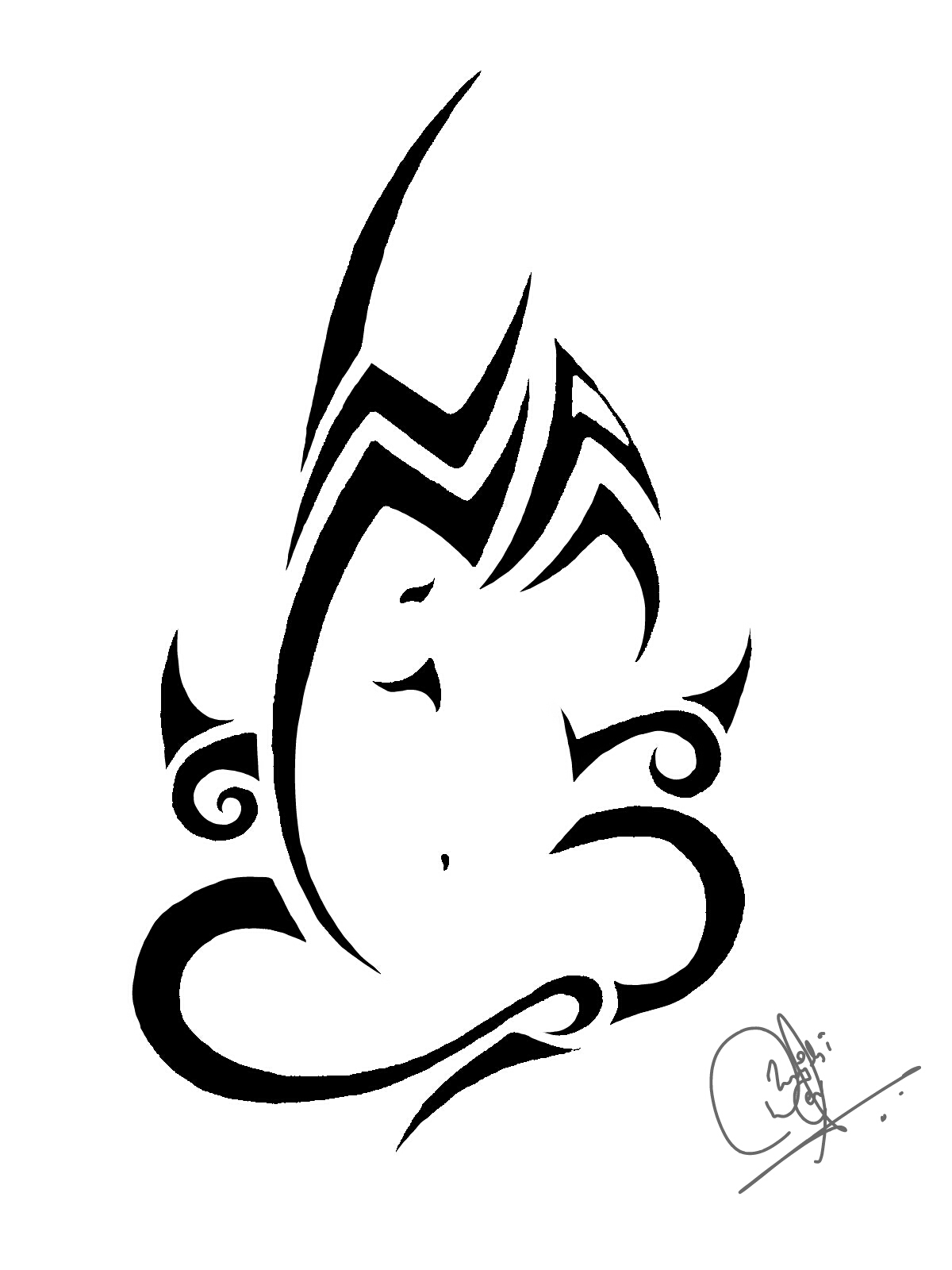 1200x1600 Lord Ganesha Tribal Art Did This Wen I Was 16
