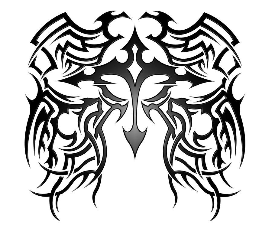 900x777 Cross Tribal V2.1 By Kuroakai
