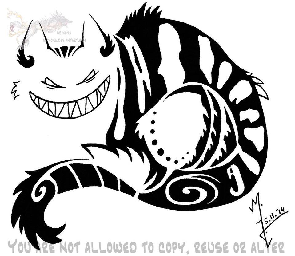 959x833 Cheshire Cat Tribal By Arixona