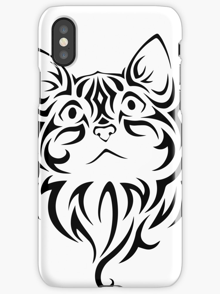 750x1000 Tribal Cat 3 Iphone Cases Amp Skins By Delaneysloane Redbubble