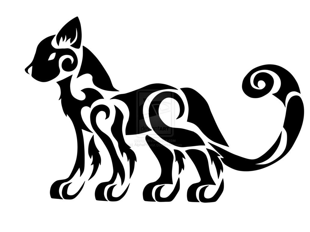 1032x774 Tribal Cat Weasyl
