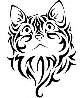 261x320 Cat Tattoo Ideas Tattoo Symbolism For Cats
