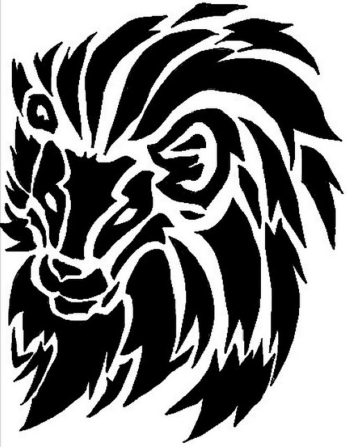 500x643 100 Lion Tattoo Designs You Must See