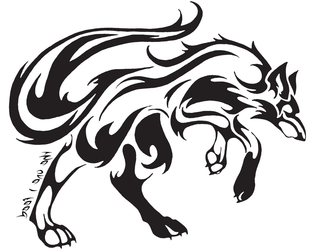 1280x989 Cool Tribal Designs To Draw Cool Tribal Fox Designs To Draw
