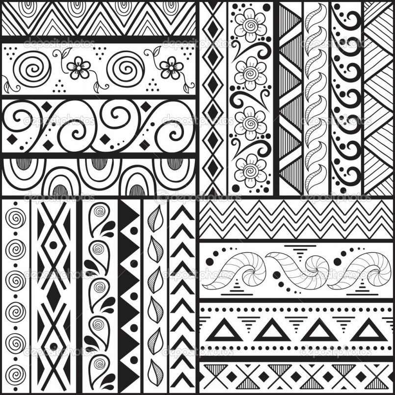 805x805 Drawing Cool Easy Flower Designs To Draw Also Easy Cool Tribal