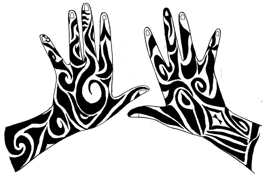 900x603 Tribal Hand Designs By Aleriacarventus