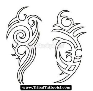 300x291 Tribal Tattoo Designs For Men Drawings ~ Tattooic