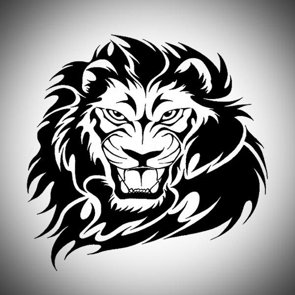 600x600 Lion Tattoos Drawings