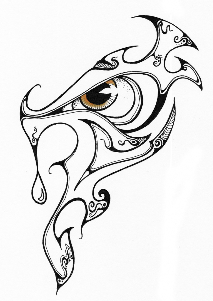 725x1024 Cool Design Drawings Designing A Cool Tribal Dragon Tattoo Design