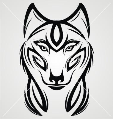 380x400 Tribal Animal Tattoo Designs