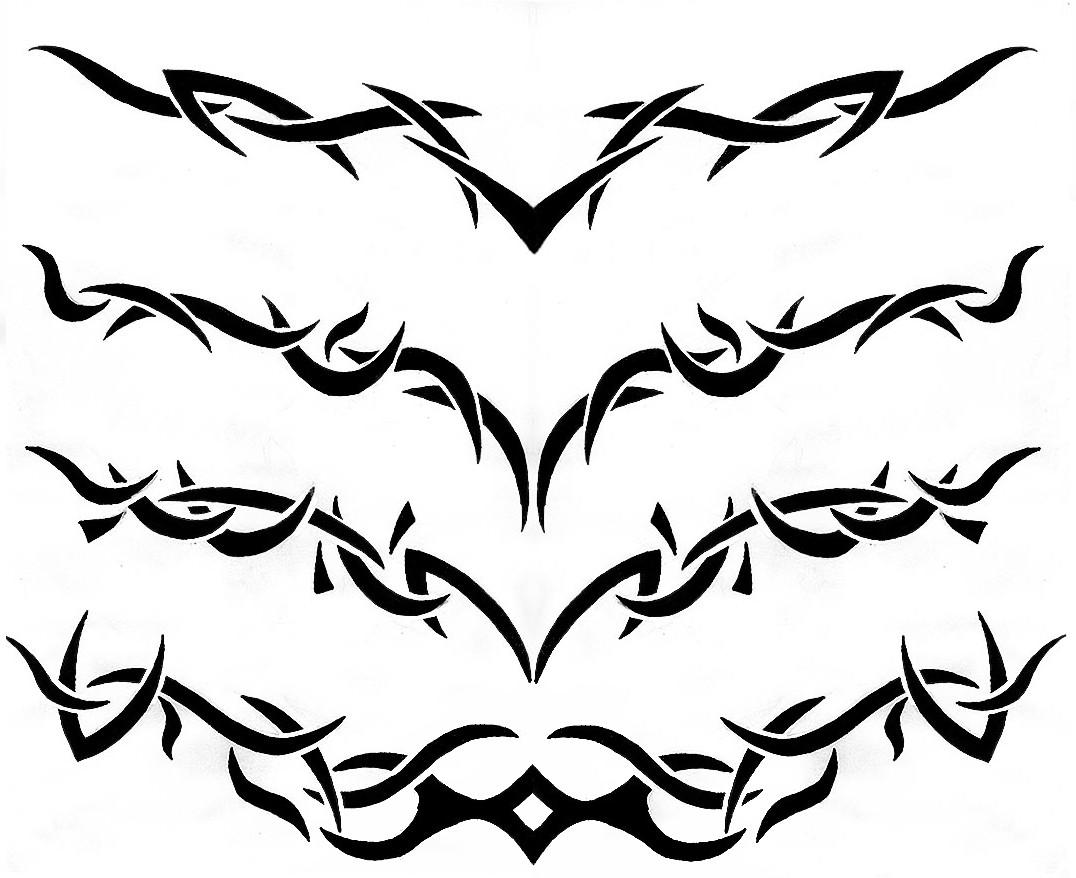 1076x878 Nice Tribal Tattoo Design Ideas For Women